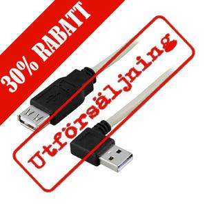 USB vinklad kabel
