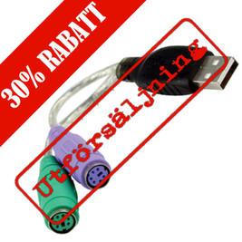 Deltaco USB till PS/2