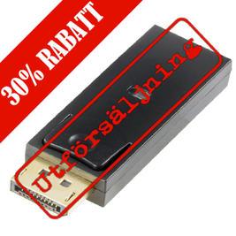 DELTACO DisplayPort till HDMI adapter