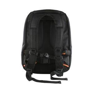 """DELTACO, notebookryggsäck, nylon, upp till 14"""", svart/orange"""
