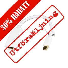 Mini DisplayPort till HDMI-adapter med ljud