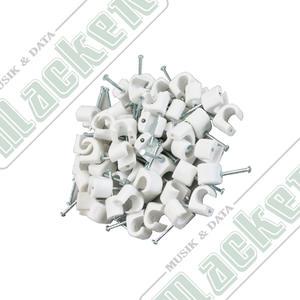 Kabelclips Rund 7-10mm 50-pack