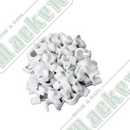 Kabelclips Rund 5-7mm 50-pack