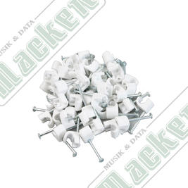 Kabelclips Rund 3-5mm 50-pack