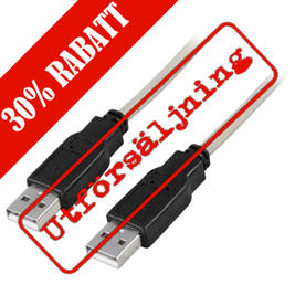 Deltaco USB 2.0 Ha, Ha, 1,5 meter