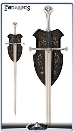 Narsil swords, the sword of Elendil