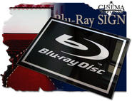 Blu-Ray Plexi skylt