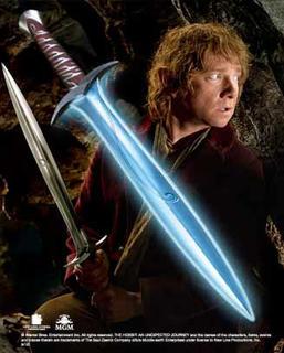 The Hobbit - Sting Illuminating Battle Sword