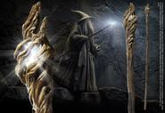 The Hobbit - Gandalf Illuminating Staff