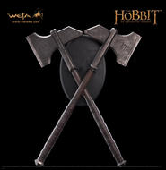 The Hobbit: Dwalin's Axes prop replica
