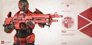 Destiny: Titan 1/6 Scale Figure