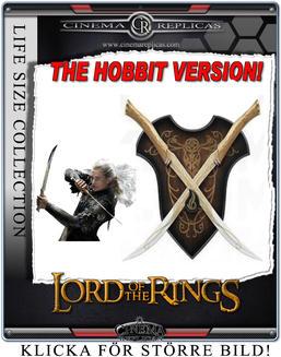 Fighting Knives of Legolas Hobbit version