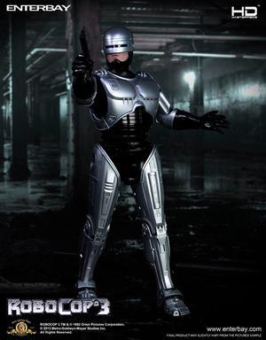Robocop 3: Robocop 1:4 scale HD masterpiece figure