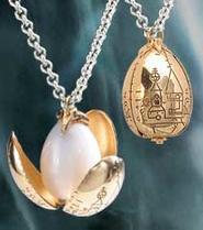 The Golden Egg Pendant