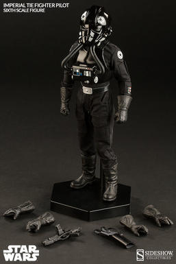 Imperial TIE Fighter Pilot Sixth Scale Figure