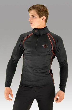 Men's Heated Base Layer with 7,4V 7,8A battery with built-in control