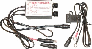 Heat-Troller portable dual zone