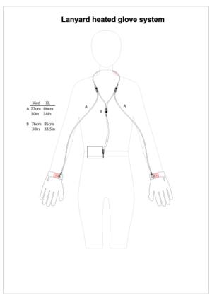 Lanyard Glove Liners