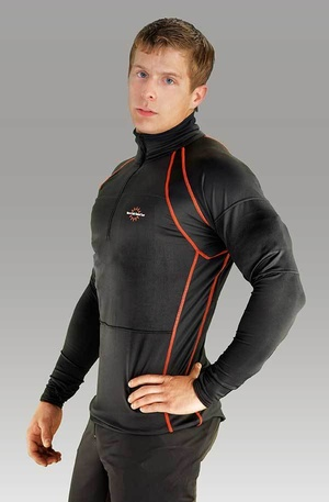Men's Heated Base Layer with 7,4V 5,2A battery with built-in control