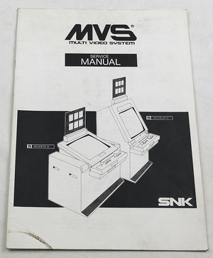 MVS kabinett manual