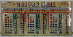 Toppglas Bally tripple bell