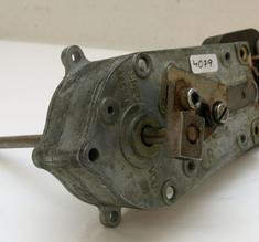 Motor med växellåda