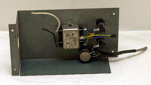 Strömfilterlåda med volymkontroll och säkringar