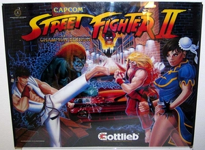 Gottlieb Streetfighter2 -93