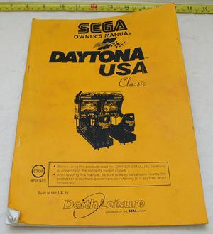Sega Daytona twin manual