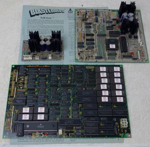 PCB kretskort Atari Blasteroids