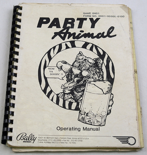 Party animal manual