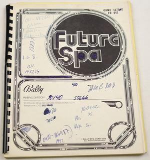 Future spa manual