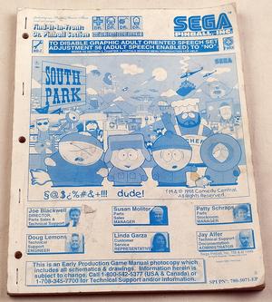 South park manual