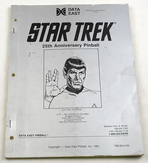 Star trek DE manual