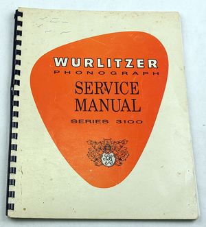 Wurlitzer 3100 manual