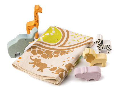 Play mat 'Safari' with accessories