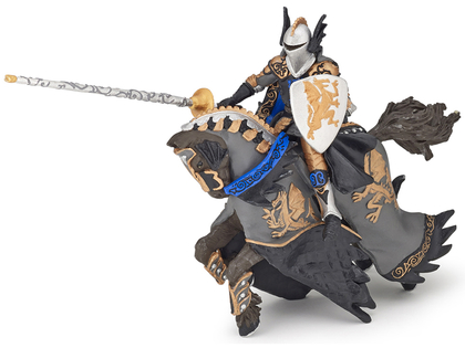 Drakprins med Häst svart