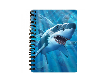 Notebook 3D Great White Delight (small)