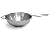 Wok pan in metal