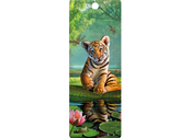 Bookmark 3D Tiger Lily