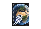 Notebook 3D Earth from space small