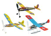 Flygplan kit med gummisnodd