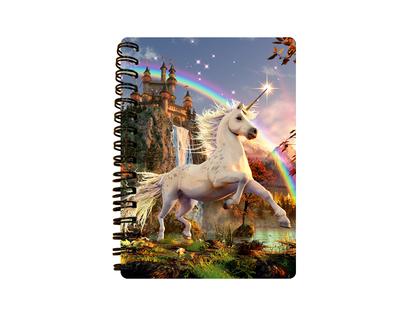 Notebook 3D Unicorn Evening Star (small)