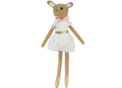 Rag doll 'Deer' in linen