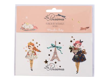 Tattoo 'Les Parisiennes' Girls