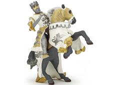 Kung Rickards Häst vit