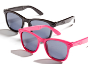 Sun Glasses for dolls (pink/black)