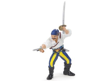 Pirate with Gun blue