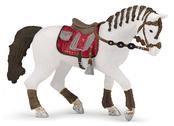 Häst till ryttare röd