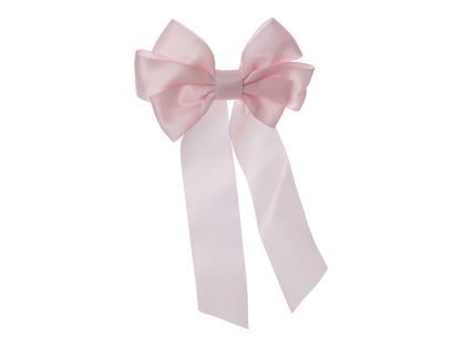 Hårspänne med rosett 'Madicken' rosa
